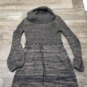 Calvin klein cowl neck sweater dress sz S